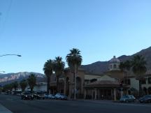 Palm Springs at dusk