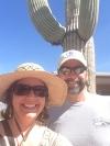 Saguaro selfie