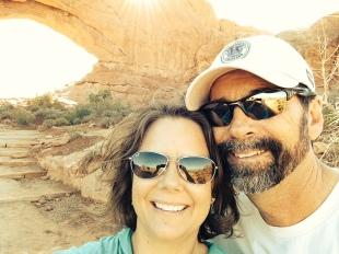 Arches selfie