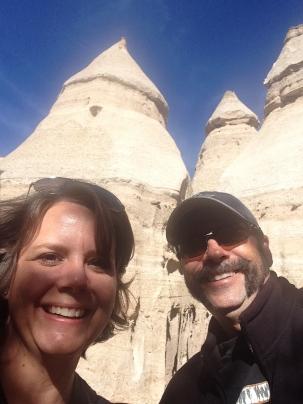 Tent Rock Selfie
